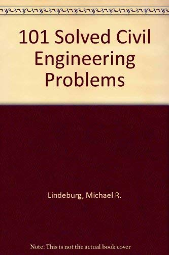 9780912045986: 101 Solved Civil Engineering Problems