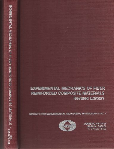 9780912053011: Experimental Mechanics of Fiber Reinforced Composite Materials (SEM monograph)