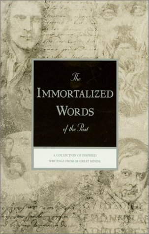 9780912057422: The Immortalized Words of the Past (Rosicrucian Library, Vol. 44)