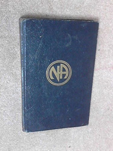 9780912075006: Narcotics Anonymous: Approved Literature
