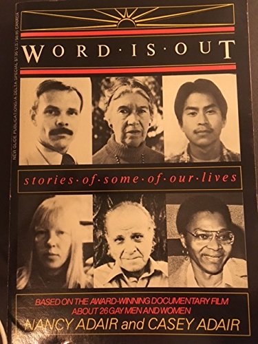 9780912078618: Word Is Out: Stories of Some of Our Lives
