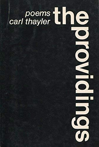 9780912090139: The providings;: Poems, 1963-1971