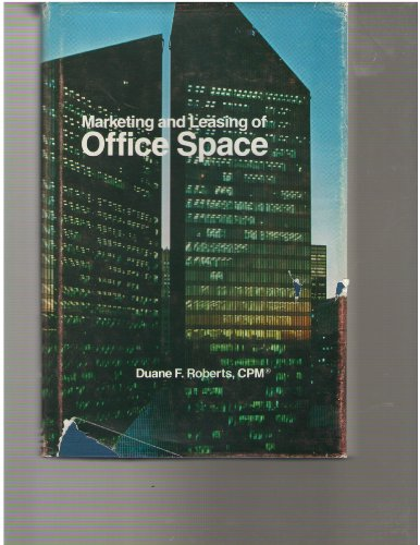 9780912104423: Marketing and Leasing of Office Space