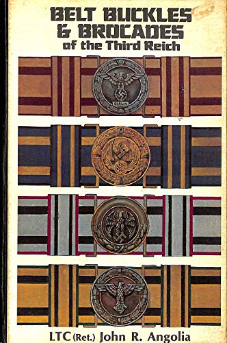 9780912138237: Belt Buckles and Brocades of the Third Reich