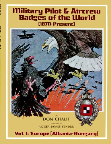 9780912138268: Military Pilot and Aircrew Badges of the World (1870 to the Present): Europe Vol 1