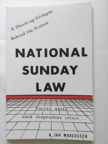 9780912145082: National Sunday Law