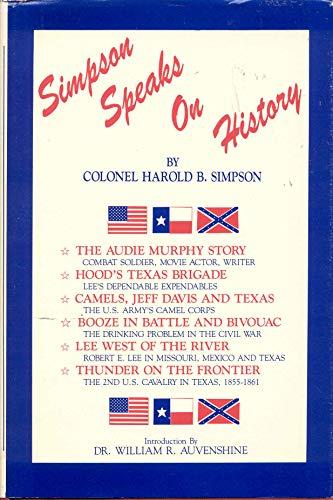 Simpson Speaks on History: Simpson, Harold B.