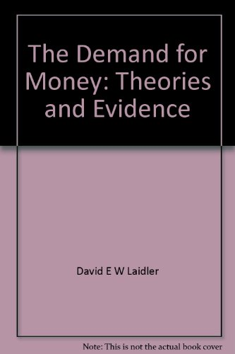 9780912212074: Demand for Money: Theories and Evidence