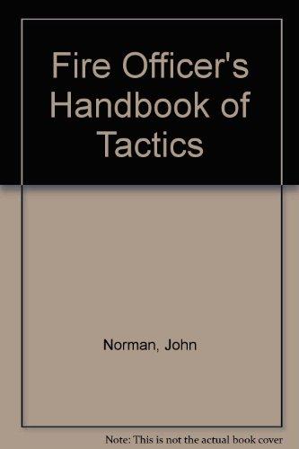 9780912212289: Fire Officer's Handbook of Tactics Study Guide
