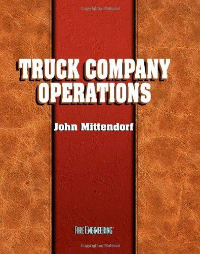 9780912212647: Truck Company Operations