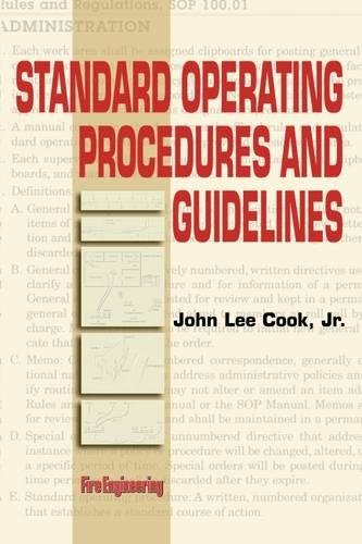 Standard Operating Procedures Guidelines (Paperback)