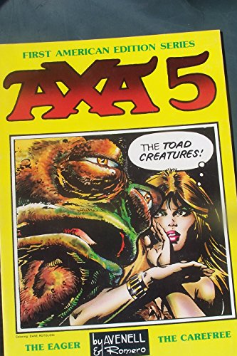 Axa, First American Edition Series #5: The: Avenell; Romero
