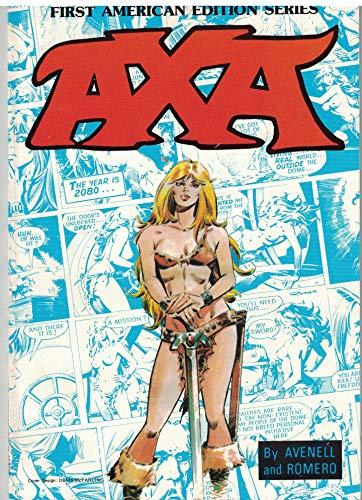 Axa the Beginning the Chosen: Donne Avenell; Illustrator-Enrique