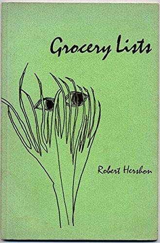 9780912278209: Grocery lists