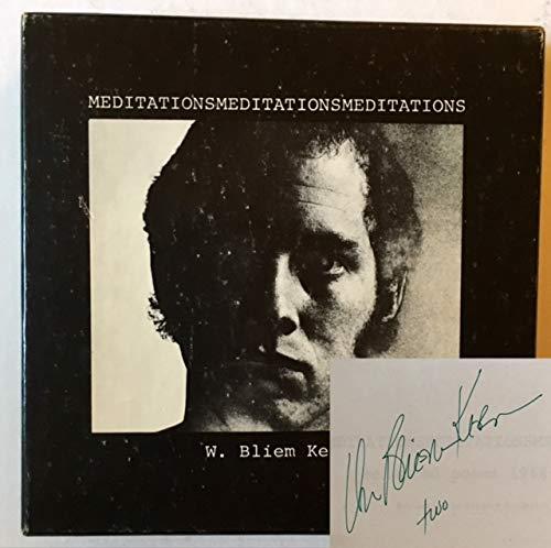 9780912284446: Meditationsmeditationsmeditations; selected poems,: 1964-1973