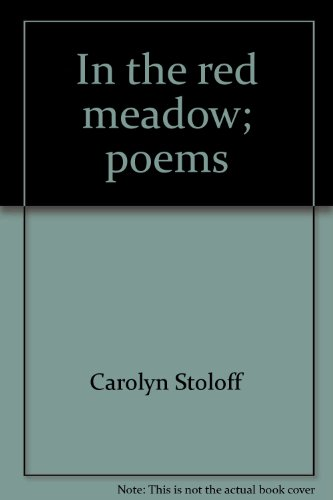 9780912284507: In the red meadow: Poems