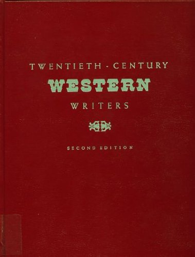 9780912289984: Twentieth-Century Western Writers (Twentieth-Century Western Writers)