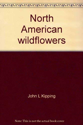 North American wildflowers coloring album: John L Kipping