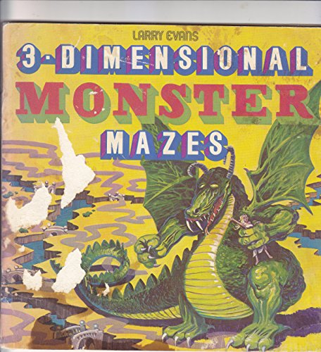 9780912300740: 3-dimensional Monster Mazes