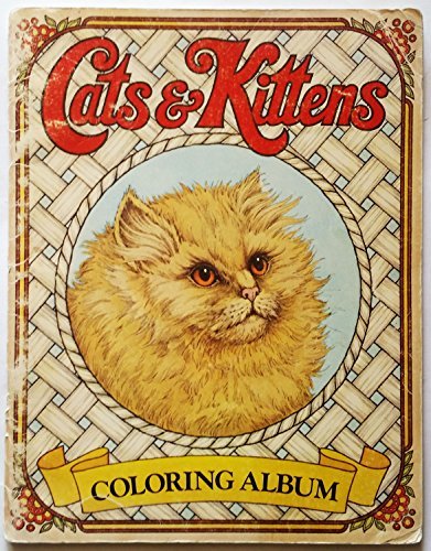 9780912300801: Cats & Kittens Coloring Album