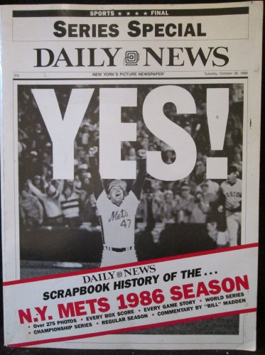 9780912331126: Scrapbook History Of The N.Y. Mets 1986 Season