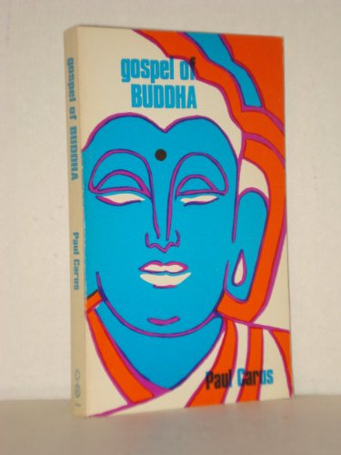 9780912358338: The gospel of Buddha, according to old records
