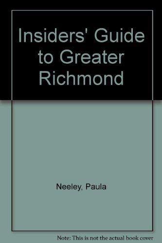9780912367316: Insiders' Guide to Greater Richmond