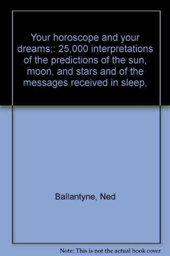 ballantyne ned stella coeli - dreams horoscope - AbeBooks