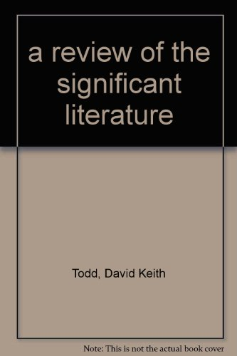9780912394169: Polluted groundwater: A review of the significant literature