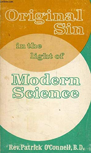 9780912414157: Original Sin in the Light of Modern Science