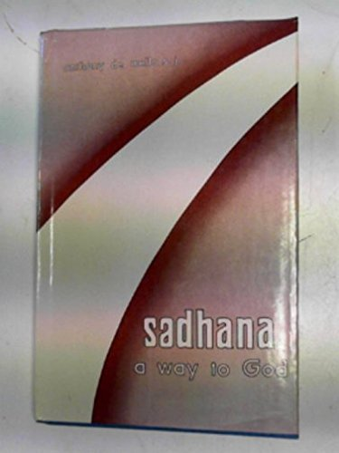 9780912422381 Sadhana A Way To God Christian Exercises In Eastern