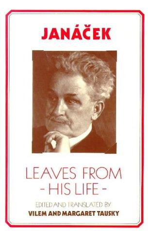 9780912483320: Janacek: Leaves from His Life