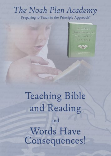 9780912498706: The Noah Plan Academy: Teaching Bible and Reading & Words Have Consequences