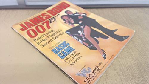 9780912515007: James Bond 007 RPG: Basic Game (book)