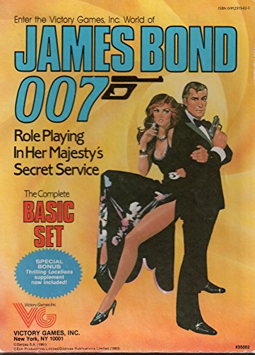 James Bond 007: Role Playing in Her: Gerard Christopher Klug