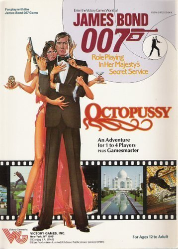 Octopussy (James Bond 007 role playing game): Gerard Christopher Klug
