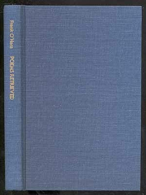 Poems Retrieved (0912516186) by O'Hara, Frank; Allen, Donald Merriam