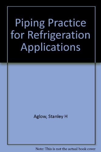 Piping Practice for Refrigeration Applications: Stanley H. Aglow