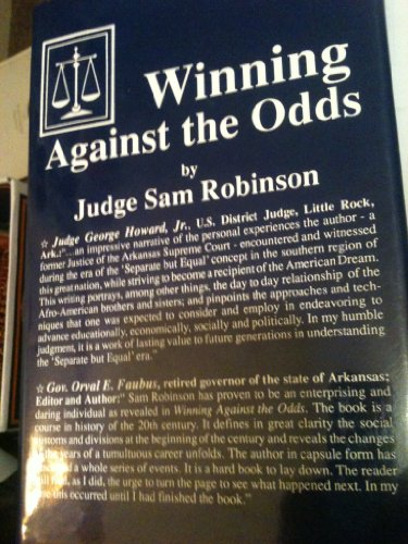 Winning Against the Odds SIGNED: Robinson, Sam