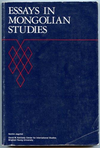 9780912575063: Essays in Mongolian Studies: 3