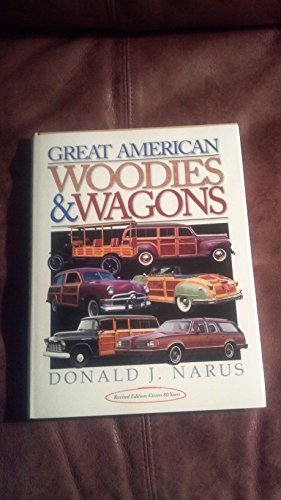 9780912612133: Great American Woodies and Wagons (Crestline Auto Books)