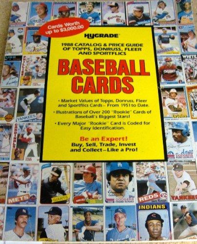 Hygrade 1988 Catalog Price Guid Of Topps