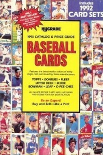 9780912618722: Baseball Cards: Catalog and Price Guide of Topps, Bowman, Donruss, Fleer, Leaf, O-Pee-Cee, Score, and Upper Deck 1993