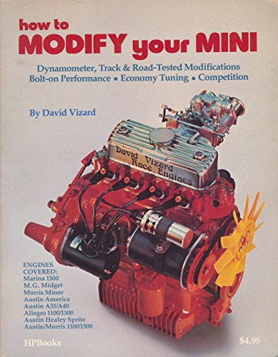 How to Modify Your Mini (0912656476) by David Vizard