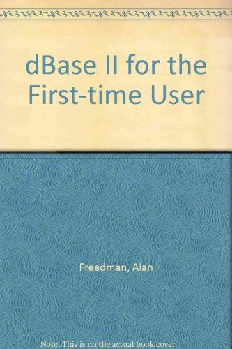 9780912677088: dBase II for the First-time User