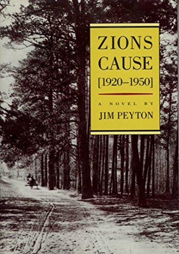 9780912697543: Zion's Cause (1920-1950)
