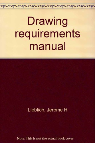 9780912702650: Drawing requirements manual