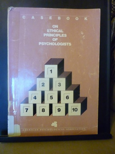 9780912704869: Casebook on Ethical Principles of Psychologists