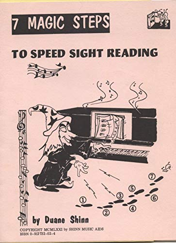 9780912732022: Seven Magic Steps to Speed Sight Reading