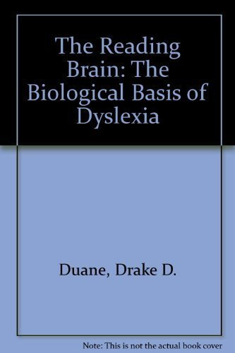 9780912752259: The Reading Brain: The Biological Basis of Dyslexia